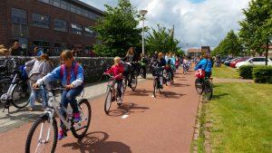 Dutch school cycling