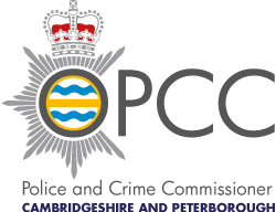 Logo of the Cambridge & Peterborough Police and Crime Commissioner