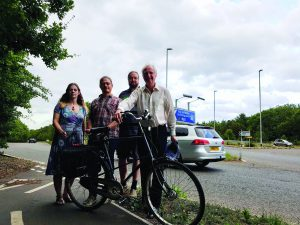 Camcycle and Cambridge MP Daniel Zeichner