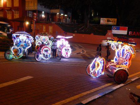 Malaysian bikes light up