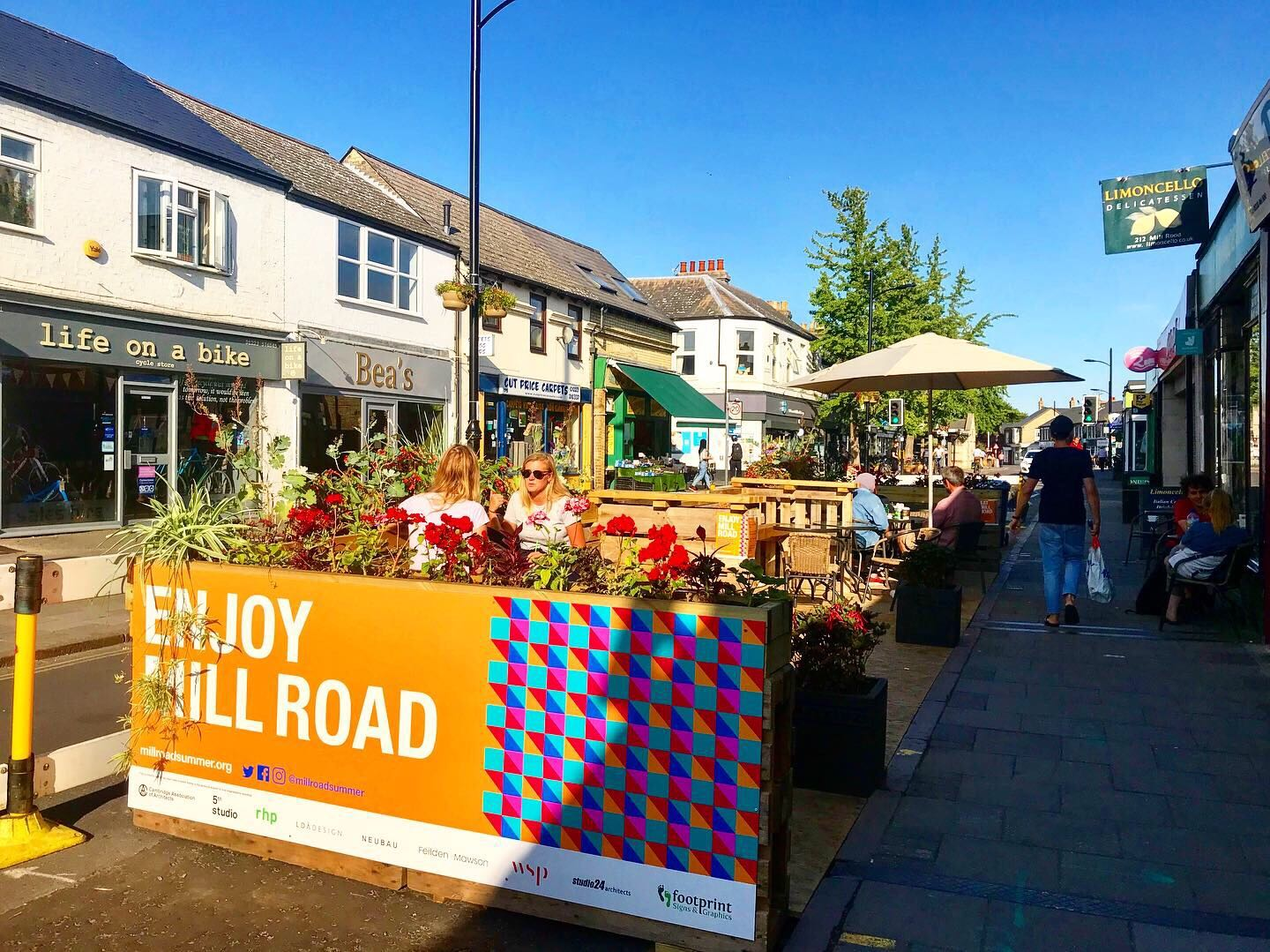 Romsey Parklet on Mill Road