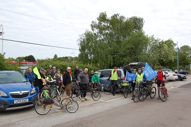 Ely Cycling Campaign on the Reach Ride