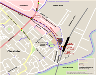 Science Park Station plans