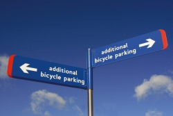 Signage to cycle parking