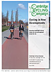 'Cycling in New Developments' cover picture