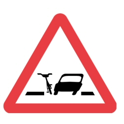 Pinch points sign