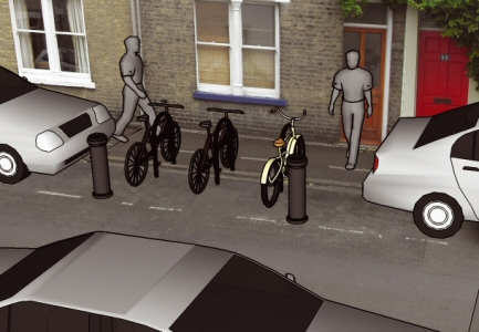 Residential cycle parking