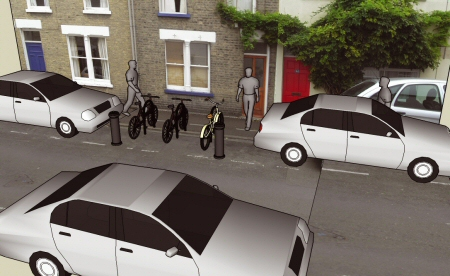 A solution for cycle parking in Romsey