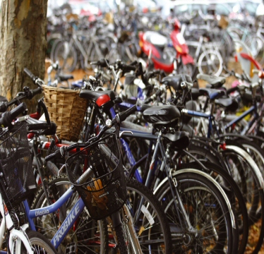Shortage of cycle parking at the station
