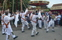 Morris dancing is part of the merriment and entertainment of the fair.