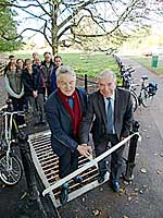 New Bit cycleway opening