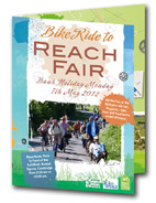 Leaflet for Reach Fair Ride