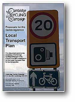 Image: local transport plan response cover