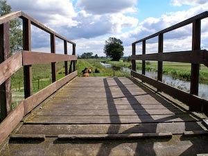 Bridge at Wicken Fen