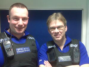 PCSOs Chris and Gary