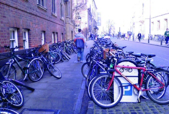 Shortage of cycle parking
