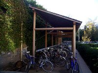 Cycle parking example as described adjacent